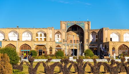 esfahan: Qeysarieh Portal, entrance to Bazar-е Bozorg in Esfahan Editorial
