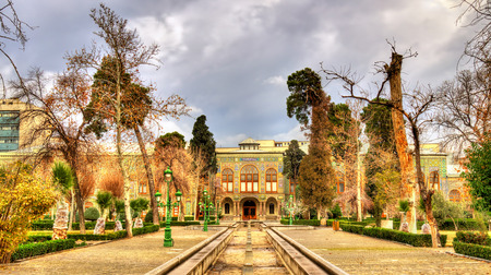 Talar-e-Salam building of Golestan Palace - Tehran, Iran