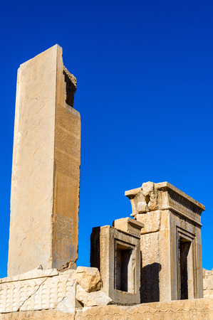 king palace: Tachara Palace of Darius at Persepolis, Iran