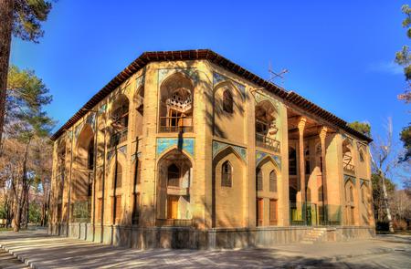 Hasht Behesht palace in Isfahan - Iran