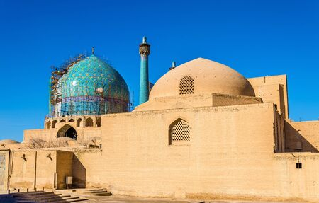shah: View of Shah (Imam) Mosque in Isfahan, Iran Stock Photo