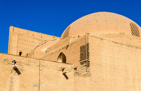 shah: Walls of Shah Mosque in Isfahan, Iran