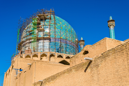 imam: View of Shah (Imam) Mosque in Isfahan, Iran Stock Photo