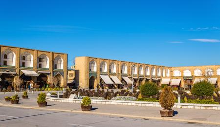 isfahan: Naqsh-e Jahan Square in Isfahan - Iran Stock Photo