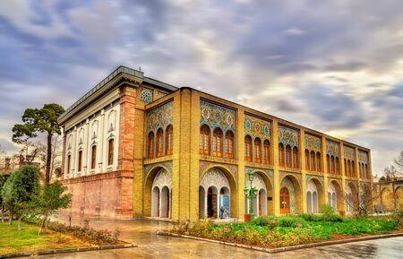 iran: Golestan Palace,in Tehran, Iran