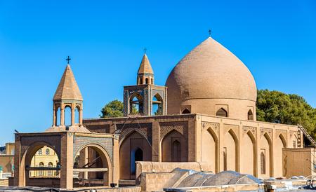 isfahan: Holy Savior Cathedral (Vank Cathedral) in Isfahan, Iran