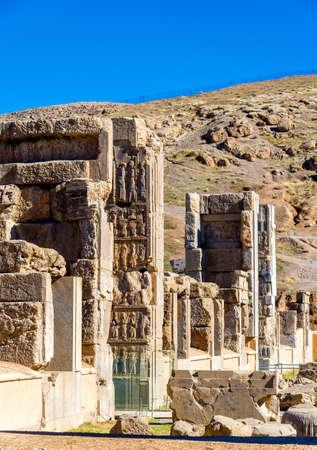 fars: Hall of Hundred Columns in Persepolis - Iran