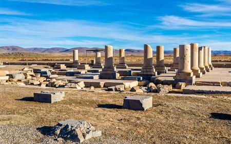 cyrus: Palace of Cyrus the Great in Pasargadae - Iran