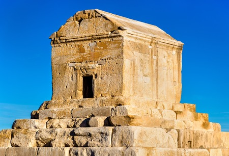 cyrus: Tomb of Cyrus the Great in Pasargadae - Iran