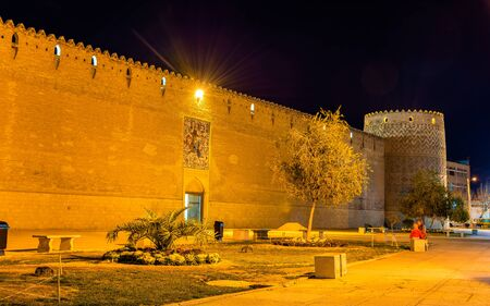 shiraz: Karim Khan citadel at night in Shiraz - Iran
