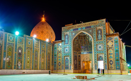 ancient near east: Shah Cheragh, a funerary monument and mosque in Shiraz, Iran.