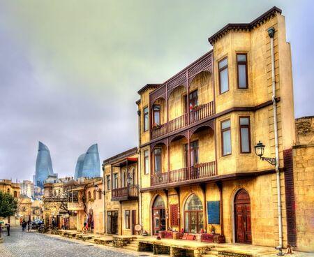 baku: Icheri Sheher, the Old Town of Baku, Azerbaijan