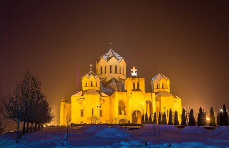 illuminator: St. Gregory the Illuminator cathedal in Yerevan, Armenia