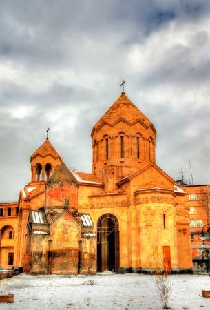sain: Churches of Sain Anna and Holy Mother of God Katoghike in Yerevan - Armenia
