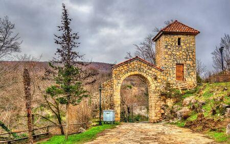 kutaisi: Motsameta Monastery in Caucasus near Kutaisi - Georgia