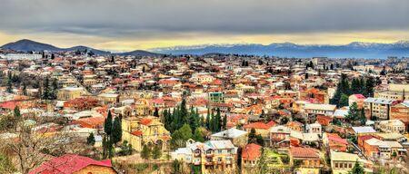 legislative: View of Kutaisi, the second largest city and the legislative capital of Georgia Stock Photo