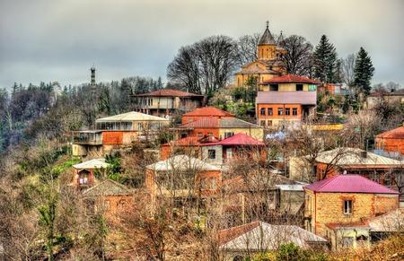 kutaisi: The St. Georges Church in Kutaisi, Georgia