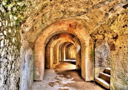 amphitheatre: The Amphitheatre of Pompeii - Italy