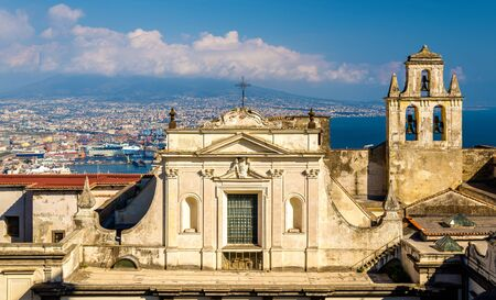 martino: View of the Certosa di San Martino in Naples, Italy