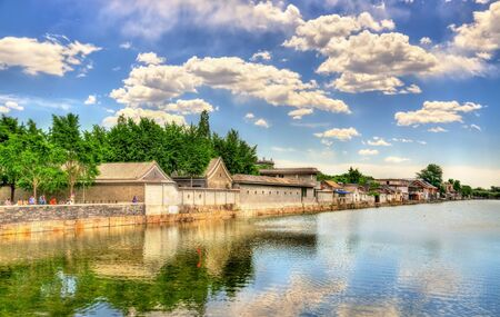 moat: Moat around the Forbidden City - Beijing, China