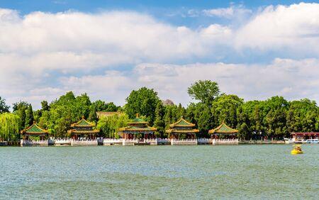 Beihai Park with the lake - Beijing, China