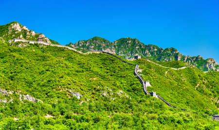 View of the Great Wall of China at Juyongguan - Beijing