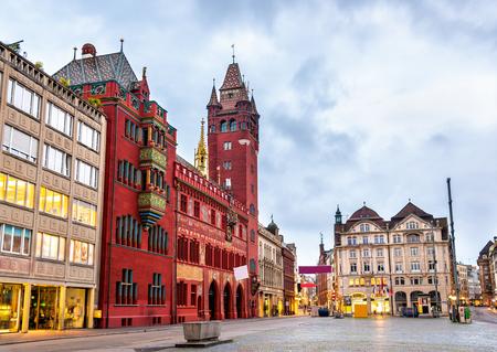 Rathaus, 바젤의 마을 회관 - 스위스