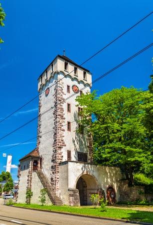church steeple: Gate of Saint John in Basel, Switzerland