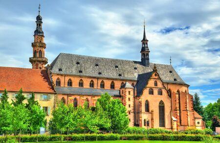 jesuit: The Jesuit Church in Molsheim - Alsace, France