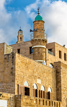 The Al-Bahr Mosque in Tel Aviv-Jaffa - Israel