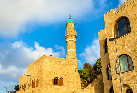 The Al-Bahr Mosque in Tel Aviv-Jaffa - Israel
