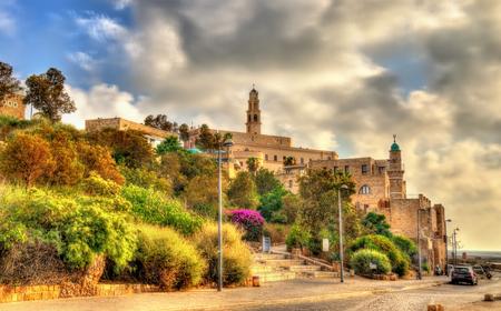 jaffo: Buildings in the old city of Jaffa - Tel Aviv, Israel