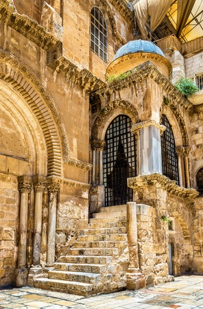 church of the holy sepulchre: Church of the Holy Sepulchre in Jerusalem - Israel