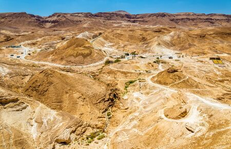 judaean desert: The Judaean Desert near the Dead Sea - Israel