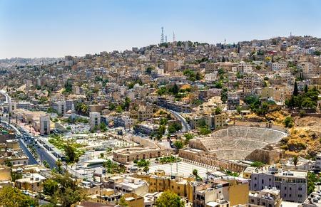 Voir le Théâtre romain à Amman - Jordanie