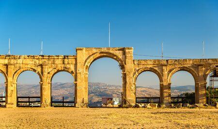 hippodrome: The Roman Circus or Hippodrome in Jerash, Jordan