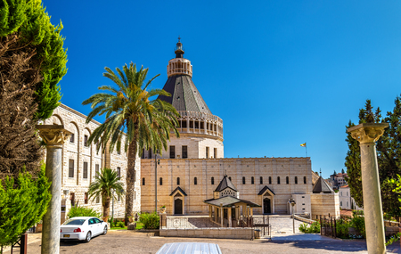 Basilica of the Annunciation, a Roman Catholic church in Nazareth, Israel