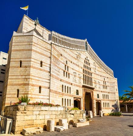 mideast: Basilica of the Annunciation, a Roman Catholic church in Nazareth, Israel