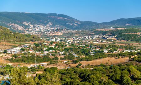 Panorama of Galilee near Nazareth - the Northern District of Israel