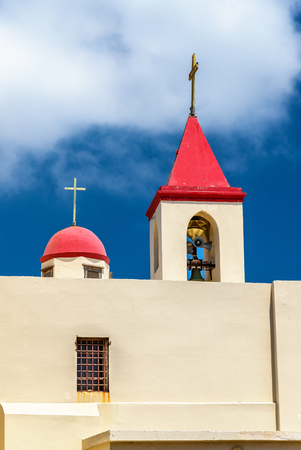 Saint Johns Franciscan Church in Acre - Israel Stock Photo