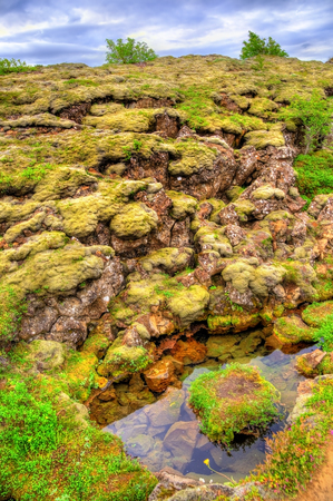 Thingvellir National Park, a UNESCO World Heritage Site in Iceland