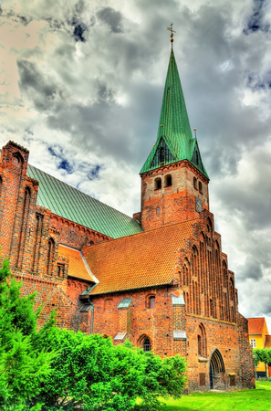 lutheran: Saint Olaf cathedral in the old town of Helsingor in Denmark
