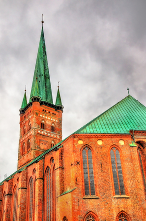 St. Peters Church in Lubeck - Germany, Schleswig-Holstein