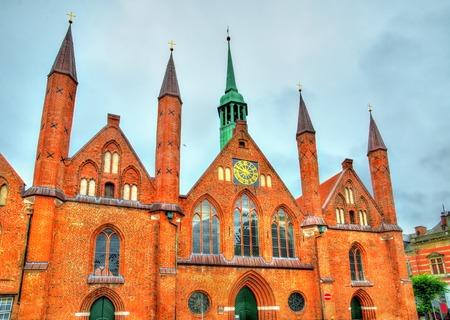 Heiligen-Geist-Hospital or Holy Spirit Hospital in Lubeck - Schleswig-Holstein, Germany