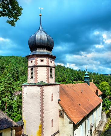 Maria in der Tanne church near Triberg im Schwarzwald in the Black Forest of Germany Stock Photo
