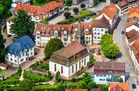 johannes: St. John the Baptist Church in Hornberg - Baden Wurttemberg, Germany