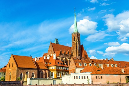 collegiate: Collegiate Church of the Holy Cross and St. Bartholomew - Wroclaw, Poland