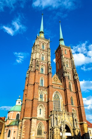wroclaw: The Cathedral of St. John the Baptist in Wroclaw - Poland
