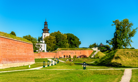 bastion: Fortifications around the old town of Zamosc in Poland