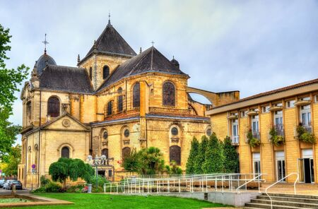 Notre-Dame Sainte-Marie Cathedral of Dax - Nouvelle-Aquitaine, France Stock Photo